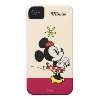 Minnie Mouse Surprised iPhone 4 Cover