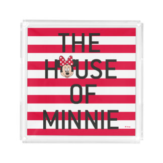 Minnie Mouse | The House of Minnie Acrylic Tray