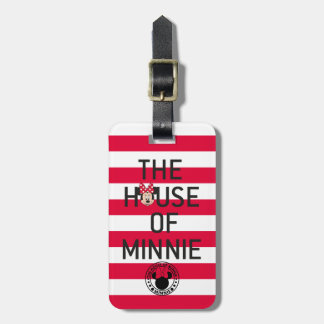 Minnie Mouse | The House of Minnie Bag Tag