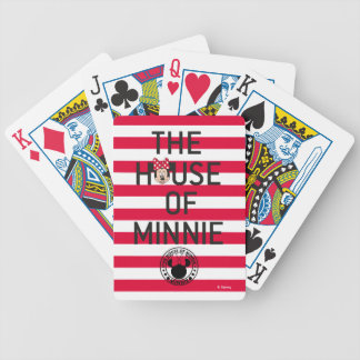 Minnie Mouse | The House of Minnie Bicycle Playing Cards