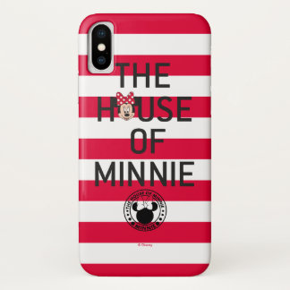 Minnie Mouse | The House of Minnie iPhone X Case
