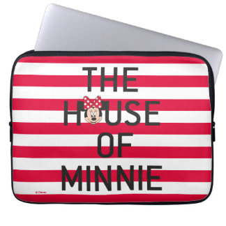 Minnie Mouse | The House of Minnie Laptop Sleeve