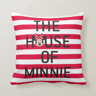 Minnie Mouse | The House of Minnie Throw Pillow