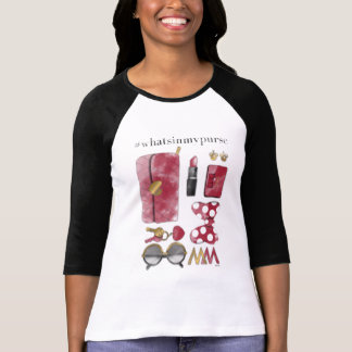 Minnie Mouse | #what'sinmypurse 2 T-Shirt