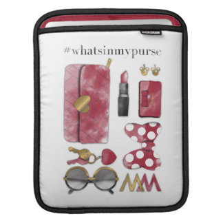 Minnie Mouse | #what'sinmypurse iPad Sleeve