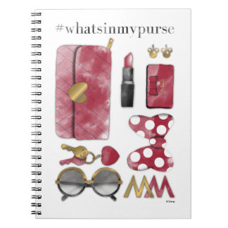 Minnie Mouse | #what'sinmypurse Notebook