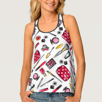 Minnie Mouse | #what'sinmypurse Pattern Tank Top