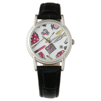 Minnie Mouse | #what'sinmypurse Pattern Wristwatch