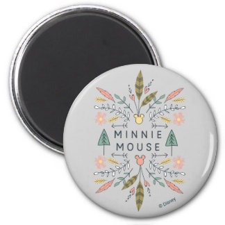 Minnie Mouse | Young Wanderers Club 2 Inch Round Magnet