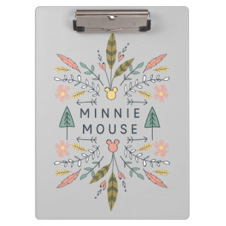 Minnie Mouse | Young Wanderers Club Clipboard