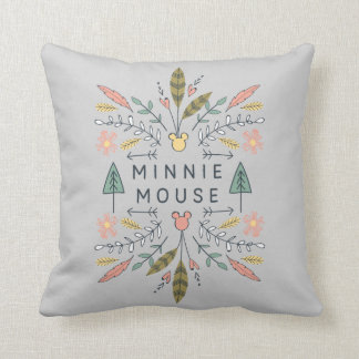 Minnie Mouse | Young Wanderers Club Throw Pillow