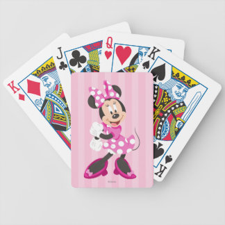 Minnie | No Stopping this Girl Bicycle Playing Cards