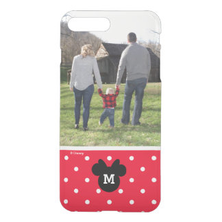 Minnie Red Polka Dot | Custom Photo & Monogram iPhone 8 Plus/7 Plus Case