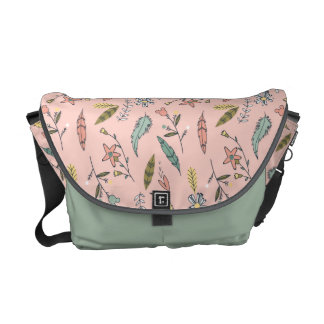 Minnie | Wildflower Pattern Commuter Bag