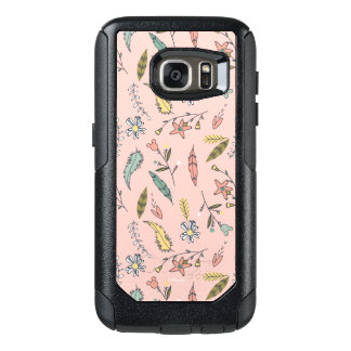 Minnie | Wildflower Pattern OtterBox Samsung Galaxy S7 Case