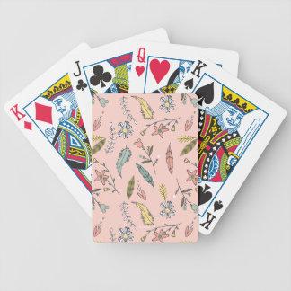 Minnie | Wildflower Pattern Poker Deck