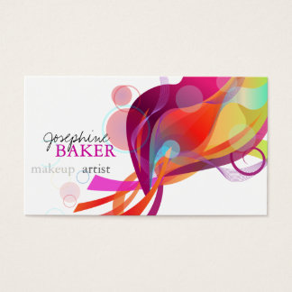 minniemay colorful world business card