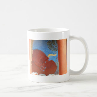 Minoan Palace of Knossos RED BULL Coffee Mug