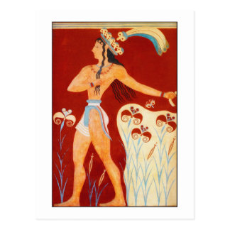 Minoan Prince Postcard