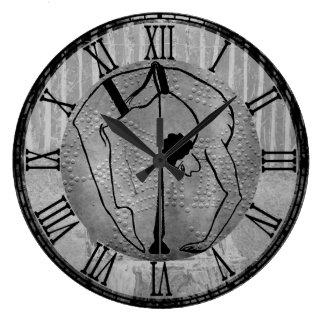 Minoan Sword Acrobat Clock
