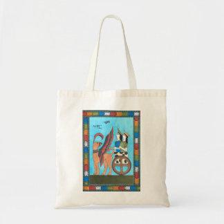 Minoan Tarot Bag: The Chariot