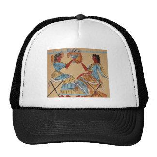 Minoan women painted around 1550-1450 BC Trucker Hat