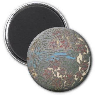Minoh manhole magnet
