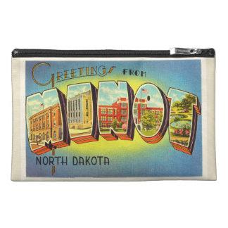 Minot North Dakota ND Old Vintage Travel Souvenir Travel Accessories Bag
