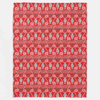 Minotaur Fleece Blanket, Large