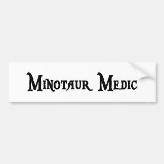 Minotaur Medic Bumper Sticker