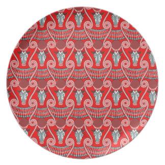 Minotaur Melamine Plate