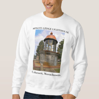 Minots Ledge Lighthouse, Cohassett Massachusetts Sweatshirt