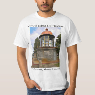 Minots Ledge Lighthouse, Cohassett Massachusetts T-Shirt
