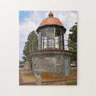 Minots Ledge Lighthouse Lantern Jigsaw Puzzle