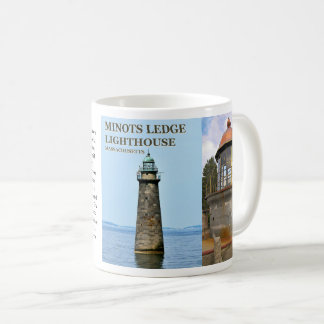 Minots Ledge Lighthouse, Massachusetts Mug