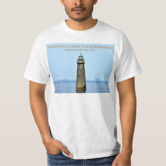 Minots Ledge Lighthouse, Massachusetts T-Shirt