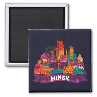 Minsk - Travel to the famous Landmarks Magnet