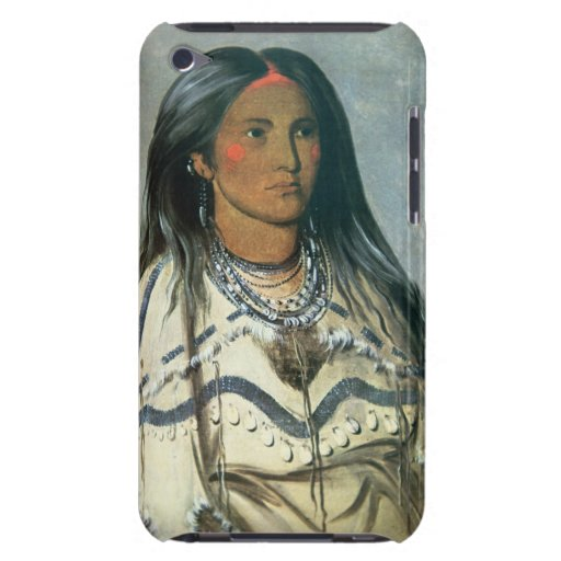 'Mint', a Mandan Indian girl, 1832 (colour litho) Barely There iPod Case