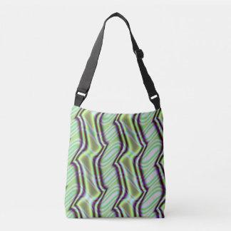 Mint Alley Fractal Crossbody Bag