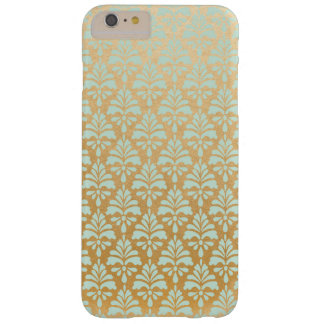 Mint and Gold iPhone Case