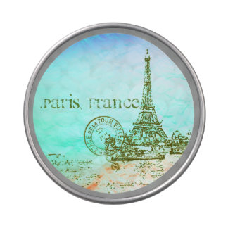 Mint and Green Pastels Impressionist Paris France