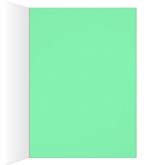 Mint and Pink Pastel Happy Birthday BDAY CARD