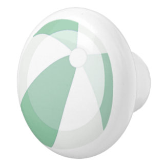 Mint Beach Ball Beach House Door Knob