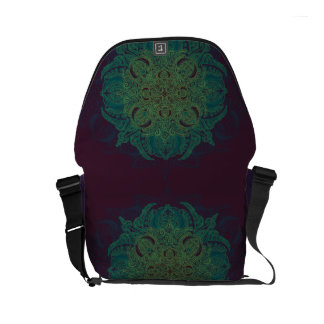 Mint Berry Fleury Commuter Bag