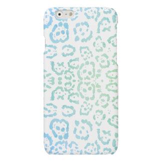 Mint Blue Leopard Pastel Kawaii Animal Print Green