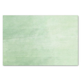 Mint Breeze Watercolor Tissue Paper