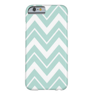 Mint Chevron Barely There iPhone 6 Case