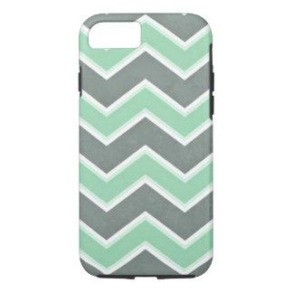 Mint Chevron iPhone 7 Case