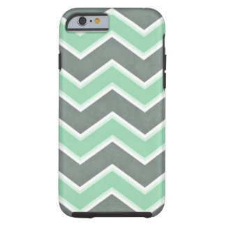 Mint Chevron Tough iPhone 6 Case
