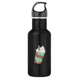 Mint Choc Milkshake 18oz Water Bottle